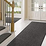 Teppich / Läufer in zahlreichen Größen | anthrazit, gepunktet | Qualitätsprodukt aus Deutschland | GUT Siegel | Küchenläufer, Flurläufer (80×175 cm) - 4