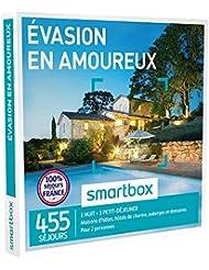 SMARTBOX - Coffret Cadeau - EVASION EN AMOUREUX - 455 séjours : maisons d'hôtes, hôtels de charme, auberges et domaines