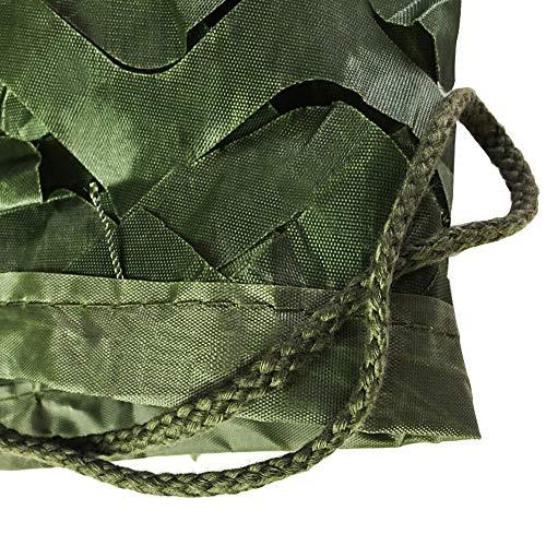 Tarnnetze Sichtschutz FüR Camping Jagd Camping Fotografie Verstecken MilitäR Schatten Tuch Schattierungsnetz Camouflage Schatten Tuch (3 Farben) LZPQ