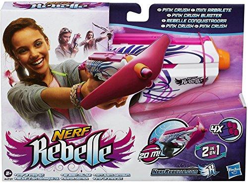 Hasbro A4739E27 - Nerf Rebelle Pink Crush -