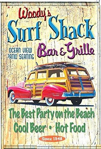 Epic Vision Woodys Surf Shack Poster
