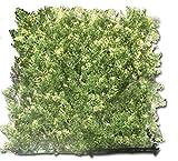 Tanne Thuja Hecke 1m ² Maßgeschneiderte Klammer - Auf PVC von 100% wie Künstliche Hecke, Zaun-Schirm Dunkelgrün/Helle Grüne 100 x 15 x 100 Cm