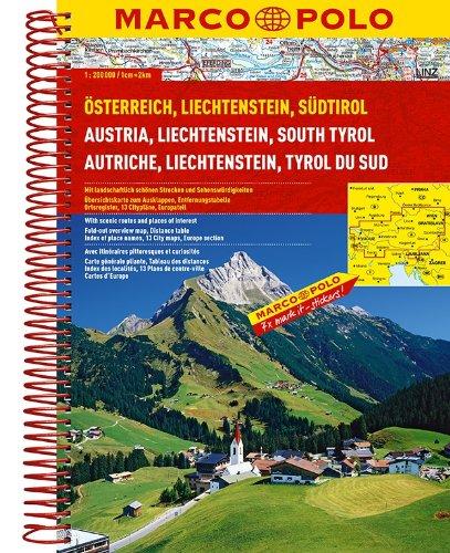 MARCO POLO Reiseatlas Österreich/Liechtenstein/Südtirol/Europa 1:200.000/1:4,5 Mio. (MARCO POLO Reiseatlanten) Test