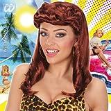 40s Brown Pin Up Girl Wig (peluca)
