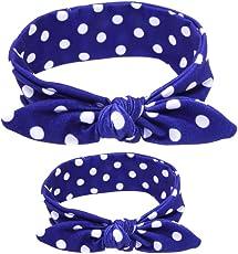 SAMGU Fasce Capelli Elastiche per Mamma e Neonate Bambine