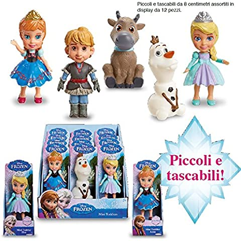 giochi preziosi gpz85477 frozen mini doll 8cm in cdu12