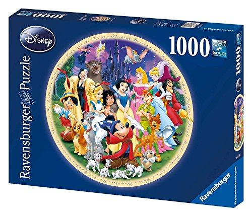 Ravensburger - Puzzle de 1000 Piezas con protagonistas Disney (15784)