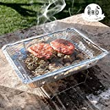BBQ Classics Barbecue jetable avec support charbon