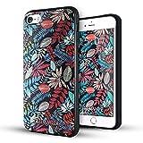 iPhone 5 hülle,iPhone 5s hülle,iPhone se hülle,Lizimandu TPU 3D Handyhülle Muster Case Cover Für iphone5/5s/5se(Ahornblätter/Maple Leaves)
