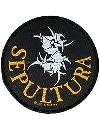Sepultura parche–Circular Logo Patch–tejida & licencia oficial.