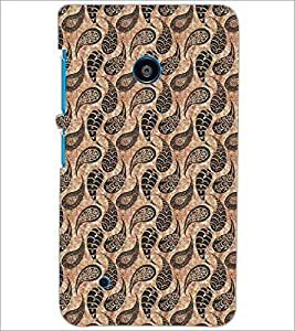 PrintDhaba Pattern D-5433 Back Case Cover for NOKIA LUMIA 530 (Multi-Coloured)