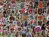 Lot de 20/50/100/150 Stickers Dark, Punk, Rock, Squelette, Terreur, Sombre, Tête de Mort, Skate, Horreur, Sexy Graffiti, Bagages (20)
