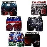 Capsters - Lot De 6 Boxers - Homme