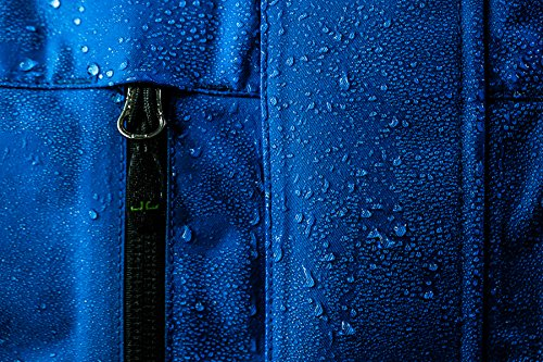 Jeff Green Herren Atmungsaktive Wasserdichte Outdoor Funktionsjacke Harstad 12.000mm Wassersäule Mulberry Red
