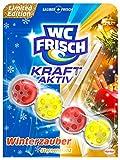 WC Frisch Kraft-Aktiv Duftspüler Winterzauber Sternenglanz - Limitierte Edition, 10er Pack (10 x 50 g)