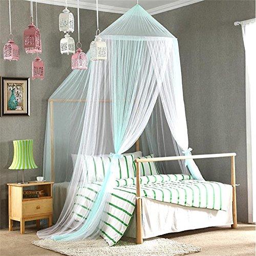 Shopping-Moderne minimalistische Mode kreative Baby Kinderbett Krippe Boden Quadrat Top Mosquito Net mit Halterung klassischen romantischen Schlafzimmer ( Farbe : Grün ) (Krippe Net Top)