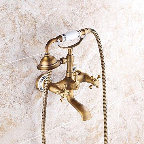 SUN-Antico vasca e doccia Handshower Incluso con valvola di ceramica