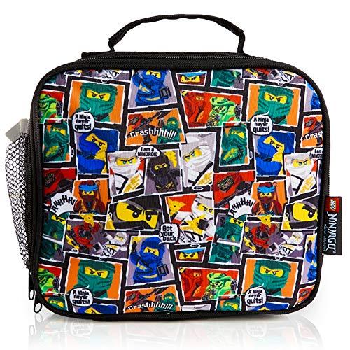 LEGO Ninjago Bolsa Termica Porta Alimentos, Nevera Portatil Pequeña Para Colegio Guarderia Excursion...