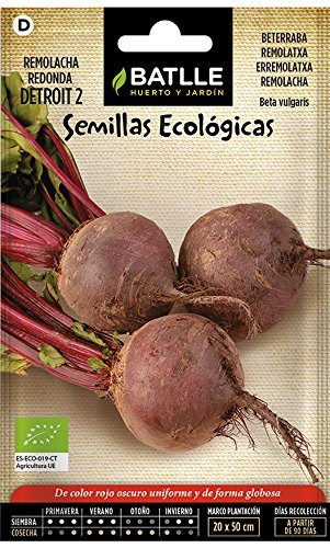 Экологические семена для садоводства - Свекла столовая Детройт 2 - ECO - Batlle