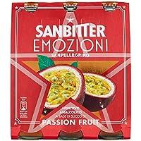SANBITTÈR Emozioni Passion Fruit, Aperitivo Analcolico 20cl x 3