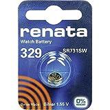 329 (SR731SW) Knopfzellenbatterie / Silberoxid 1.55V / für Uhren, Taschenlampen, Autoschlüssel , Taschenrechner , Kameras, etc / iCHOOSE