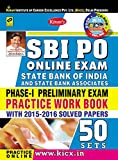 SBI PO Online Exam Phase - I Preliminary Exam Practice Work Book 50 Sets English Medium (with CD) - 1837