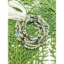 Prime vendita su Amazon Powered by gioiello perline per 1fili con gemme naturali 3mm micro sfaccettato rondelle lungo 33cm.