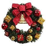 TOOGOO(R) Decorazioni natalizie Corona di porte e finestre Lusso Merry Christmas Garland Party