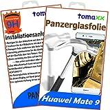 Huawei Mate 9 Panzerglas Panzerglasfolie - Glasfolie