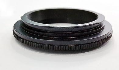 Omax 55mm lens reversal ring adapter for macro photography for nikon lenses