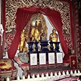 Golden Buddha Lao-Tse Temple Chinese Art(- ) Poster Drucken (60,96 x 91,44 cm)