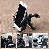 360Auto Air Vent-Halter Ständer Halterung für iPhone Samsung Handy