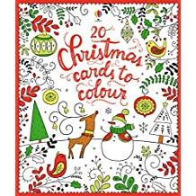 20 Christmas Cards to Colour