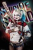 Poster Suicide Squad - Harley Quinn (61cm x 91,5cm) + un poster surprise en cadeau!
