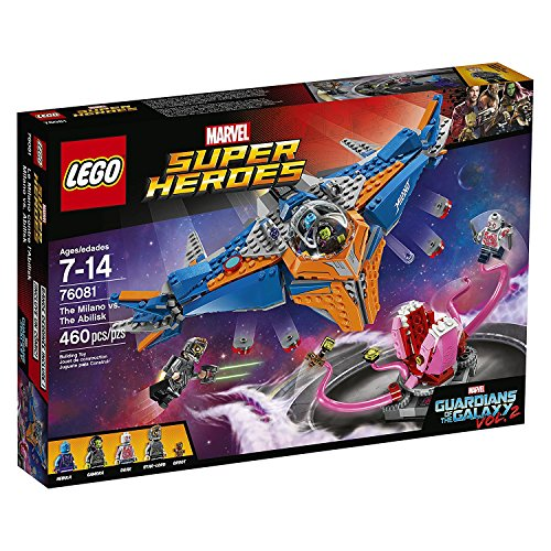 LEGO-76081-Guardians-of-The-Galaxy-Faceoff-Vol2-The-Milano-vs-Abilisk