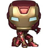 Funko - Pop! Marvel: Avengers Game - Iron Man Figurina, Stark Tech Suit, Multicolor (47756)