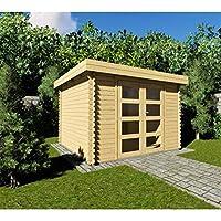 AL Wood Ltd - Cobertizo de jardín (3 x 2,4 x ...
