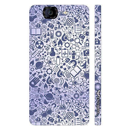 Enthopia Designer Hardshell Case All Elements of Physics Back Cover for Micromax Canvas Knight A350  available at amazon for Rs.95