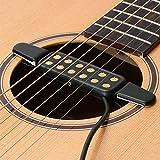 Tonabnehmer für Gitarren Akustik Gitarren Pickup Pick-up Gitarrenzubehör