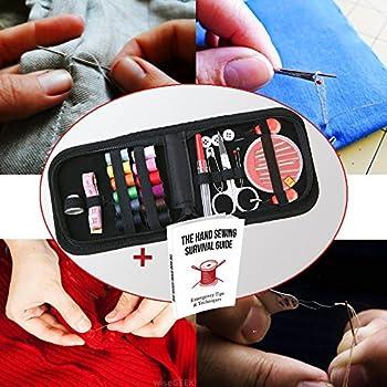 Hochwertiges Mini-nähset Für Zuhause, Auf Reisen & Notfälle + Kostenloses Ebook - Premium-nähzubehör, Ein Tolles Geschenk Für Anfänger 3