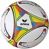 Erima HYBRID FUTSAL JNR 350, Größe 4, weiß/rot, 10er-Set