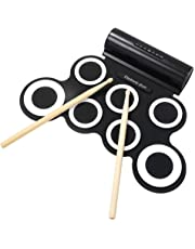 Powerpak G3001A Electronic Drum Pad with Headphone(Black/White)