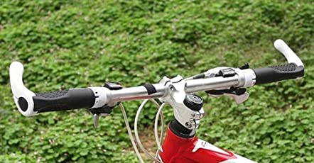 Bicycle Handlebar Grips Lock-On Handle Bar Ends Bike Parts Cycling Accessories rubber Aluminum Alloy