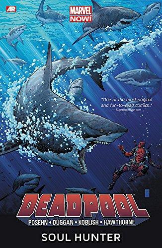 Book's Cover of Deadpool  Volume 2 Soul Hunter Marvel Now