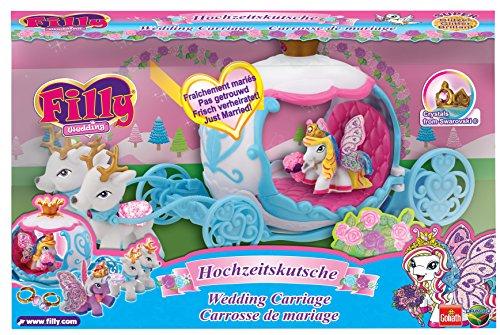 filly spielzeug Filly 33246 - Wedding Glitzer Hochzeitskutsche