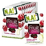 Nature Addicts Fruit und Chocolate Himbeere, 10er Pack (10 x 35 g)