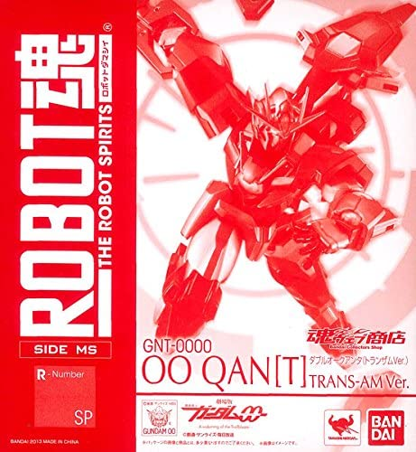 The Robot Spirits [SIDE MS] - Mobile Suit Gundam 00 : A wakening of the Trailblazer - OO Qan(T) (Trans-Am ver.) | Attrayant De Mode