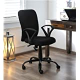 AB DESIGNS DESIGNS STARTS HERE® FOXY MID Back Office Chair/Study chair/revolving chair/Computer Chair for Home Work Executive