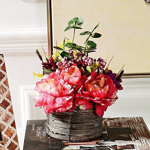 Beata.T Le camere sono decorate soggiorno sala da tabelle di seta fiori fiori artificiali Kit generale ornamenti, Li