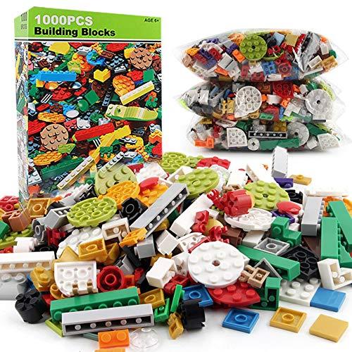 Jiobapiongxin 1000 Teile / Satz Kinder Kinder Ziegel DIY Bausteine Lernspielzeug Für Geschenk